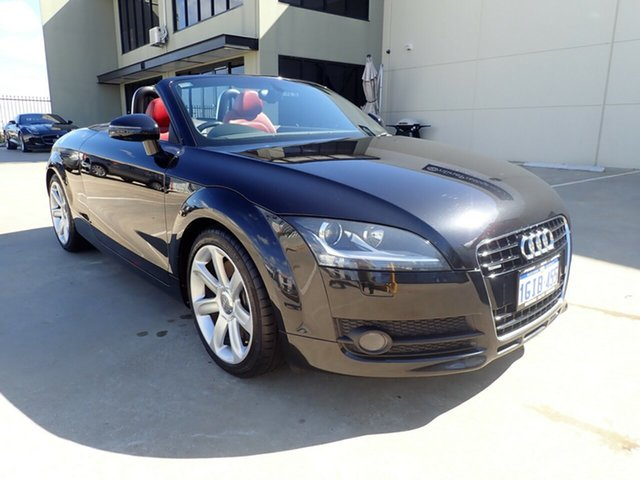 Used Audi TT 8J MY10 S Tronic Quattro, 2009 Audi TT 8J MY10 S Tronic Quattro Black Magic 6 Speed Sports Automatic Dual Clutch Roadster