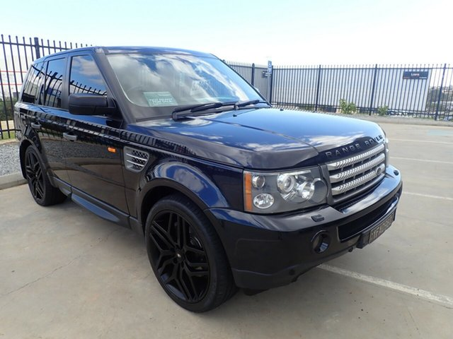 Used Land Rover Range Rover Sport L320 09MY Super Charged, 2009 Land Rover Range Rover Sport L320 09MY Super Charged Night Blue 6 Speed Sports Automatic Wagon