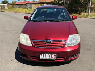 2006 Toyota Corolla ZZE122R Ascent Maroon 4 Speed Automatic Sedan