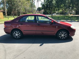 2006 Toyota Corolla ZZE122R Ascent Maroon 4 Speed Automatic Sedan.