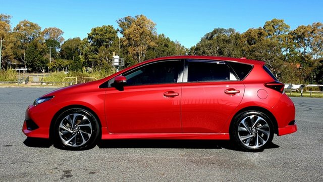 Used Toyota Corolla ZRE182R SX S-CVT Virginia, 2015 Toyota Corolla ZRE182R SX S-CVT Red Metallic 7 Speed Constant Variable Hatchback