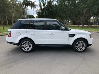 2012 Land Rover Range Rover MY12 Sport 3.0 SDV6 White 6 Speed Automatic Wagon.