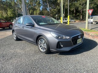2018 Hyundai i30 ACTIVE AUTO Grey 6 Speed Automatic Hatchback.