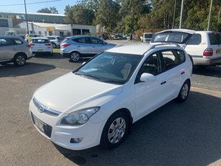 2012 Hyundai i30 DIESEL FD White 4 Speed Automatic Wagon