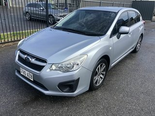 2013 Subaru Impreza G4 MY13 2.0i Lineartronic AWD Silver 6 Speed Constant Variable Hatchback.
