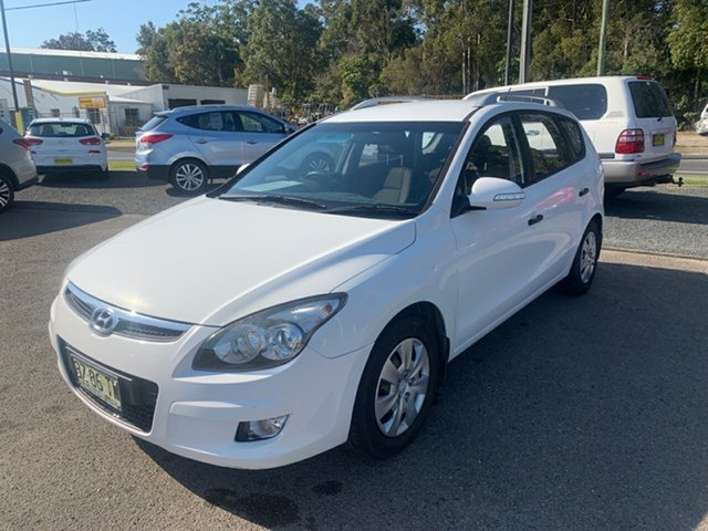 Used Hyundai i30  , 2012 Hyundai i30 DIESEL FD White 4 Speed Automatic Wagon