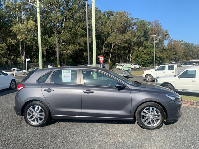 Used Hyundai i30  , 2018 Hyundai i30 ACTIVE AUTO Grey 6 Speed Automatic Hatchback