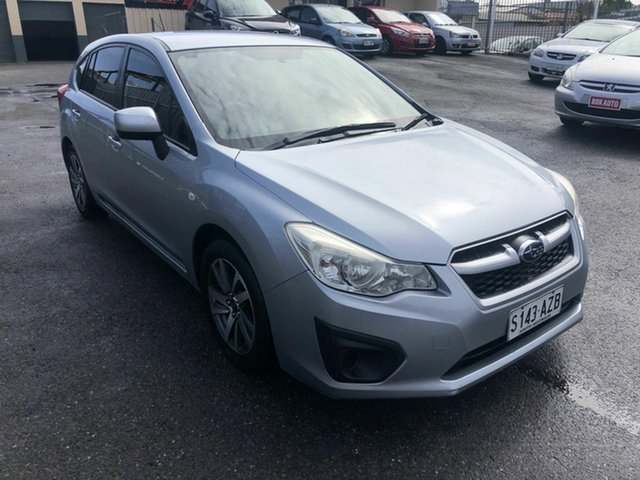 Used Subaru Impreza G4 MY13 2.0i Lineartronic AWD Hampstead Gardens, 2013 Subaru Impreza G4 MY13 2.0i Lineartronic AWD Silver 6 Speed Constant Variable Hatchback