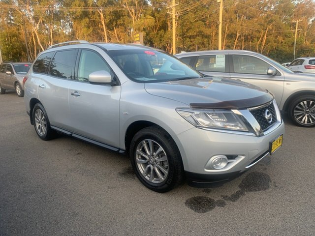 Used Nissan Pathfinder  ST, 2015 Nissan Pathfinder FWD  7 SEATER  ST Silver 6 Speed Automatic Wagon