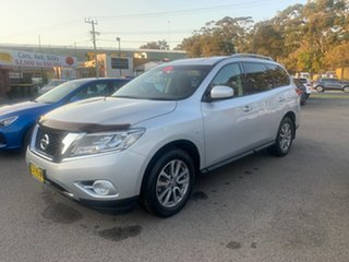 2015 Nissan Pathfinder FWD  7 SEATER  ST Silver 6 Speed Automatic Wagon.