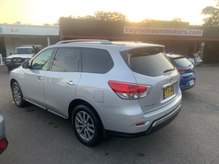 2015 Nissan Pathfinder FWD  7 SEATER  ST Silver 6 Speed Automatic Wagon