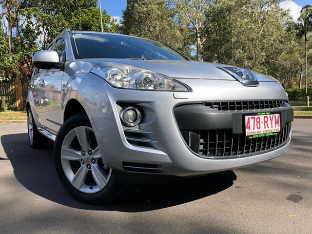 Used Peugeot 4007  SV (7 Seat), 2011 Peugeot 4007 SV (7 Seat) Silver 6 Speed Direct Shift Wagon