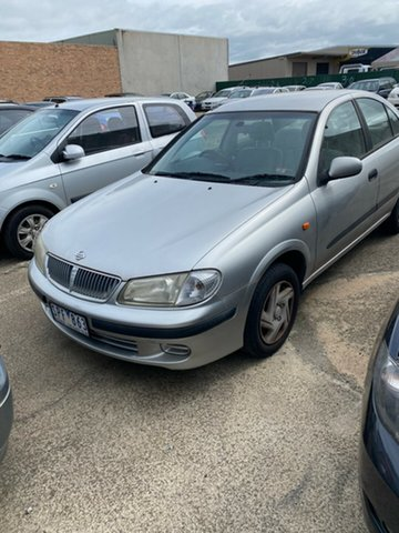 Used Nissan Pulsar N16 ST Hoppers Crossing, 2003 Nissan Pulsar N16 ST Silver 4 Speed Automatic Sedan