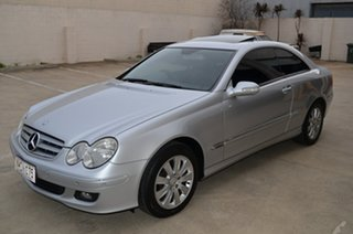 2007 Mercedes-Benz CLK200K C209 MY06 Elegance Silver 5 Speed Auto Touchshift Coupe.