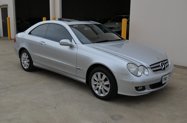 Used Mercedes-Benz CLK200K C209 MY06 Elegance, 2007 Mercedes-Benz CLK200K C209 MY06 Elegance Silver 5 Speed Auto Touchshift Coupe