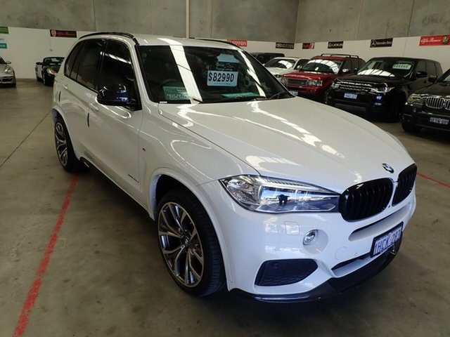 Used BMW X5  xDrive 30d Ind Collection, 2017 BMW X5 xDrive 30d Ind Collection White Diamond 8 Speed Automatic Wagon