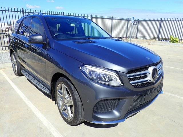 Used Mercedes-Benz GLE-Class W166 GLE350 d 9G-Tronic 4MATIC, 2016 Mercedes-Benz GLE-Class W166 GLE350 d 9G-Tronic 4MATIC Grey Metallic 9 Speed Sports Automatic