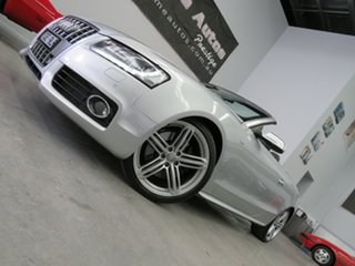 2009 Audi S5 8T MY10 S Tronic Quattro Silver 7 Speed Sports Automatic Dual Clutch Cabriolet
