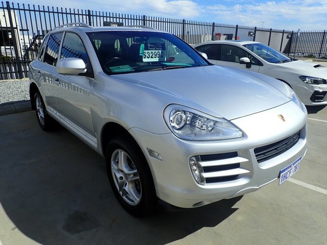 Used Porsche Cayenne 9PA MY10 Diesel, 2009 Porsche Cayenne 9PA MY10 Diesel Silver Metallic 6 Speed Sports Automatic Wagon
