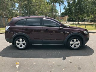 2013 Holden Captiva CG MY12 7 CX (4x4) Red 6 Speed Automatic Wagon