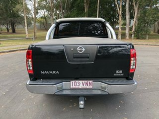 2014 Nissan Navara D40 RX Silverline SE (4x4) Black 6 Speed Manual Dual Cab Pick-up