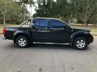 2014 Nissan Navara D40 RX Silverline SE (4x4) Black 6 Speed Manual Dual Cab Pick-up.