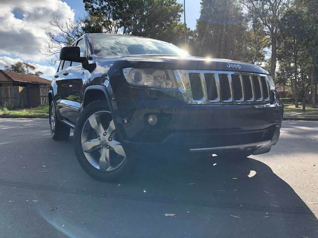 Used Jeep Grand Cherokee WK MY13 Limited (4x4) Underwood, 2013 Jeep Grand Cherokee WK MY13 Limited (4x4) Black 5 Speed Automatic Wagon