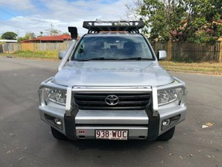 2010 Toyota Landcruiser VDJ200R 09 Upgr GXL (4x4) Silver 6 Speed Automatic Wagon
