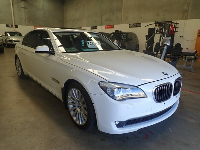 Used BMW 750Li F02 , 2009 BMW 750Li F02 White Diamond 6 Speed Auto Steptronic Sedan