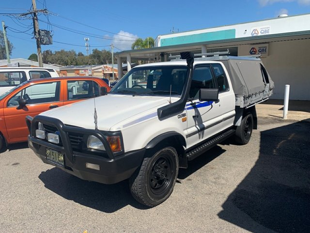 Used Ford Courier Diesel , 1997 Ford Courier Diesel PD xtra cab 4x4  White 5 Speed Manual Trayback