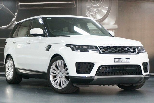 Used Land Rover Range Rover Sport L494 19.5MY SDV6 183kW SE, 2019 Land Rover Range Rover Sport L494 19.5MY SDV6 183kW SE Fuji White 8 Speed Sports Automatic