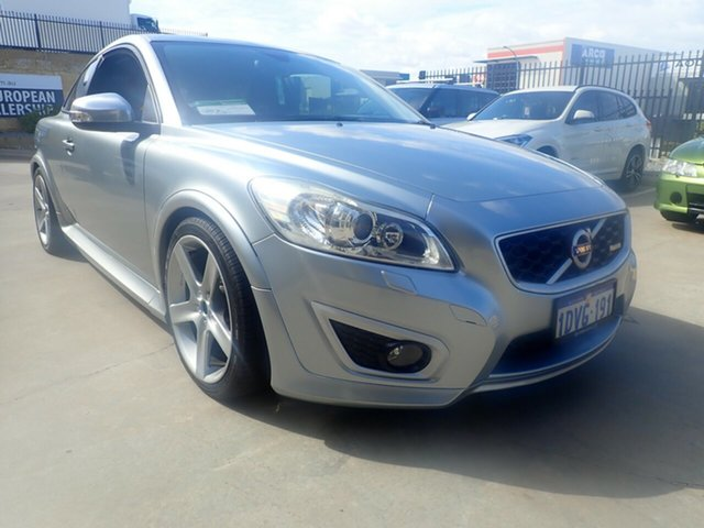 Used Volvo C30 M Series MY11 T5 Geartronic R-Design, 2010 Volvo C30 M Series MY11 T5 Geartronic R-Design Silver Ice 5 Speed Sports Automatic Hatchback