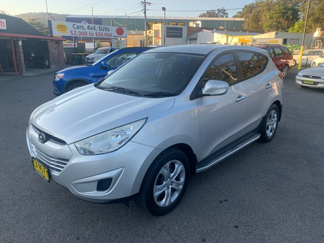Used Hyundai ix35  , 2010 Hyundai ix35 5SPEED 2.0 LTR Silver 5 Speed Manual Wagon