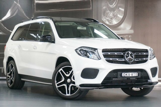 Used Mercedes-Benz GLS-Class X166 GLS350 d 9G-Tronic 4MATIC, 2016 Mercedes-Benz GLS-Class X166 GLS350 d 9G-Tronic 4MATIC White 9 Speed Sports Automatic Wagon