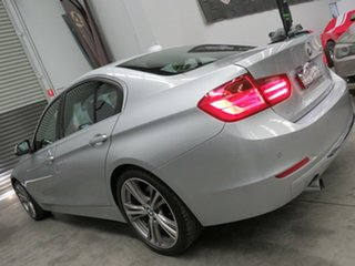 2015 BMW 3 Series F30 LCI 320i Luxury Line Silver 8 Speed Sports Automatic Sedan