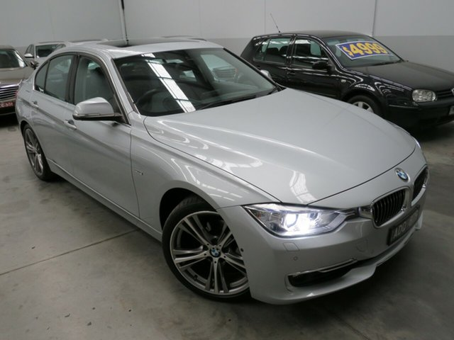 Used BMW 3 Series F30 LCI 320i Luxury Line, 2015 BMW 3 Series F30 LCI 320i Luxury Line Silver 8 Speed Sports Automatic Sedan