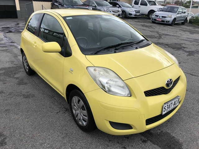 Used Toyota Yaris NCP90R MY09 YR Hampstead Gardens, 2009 Toyota Yaris NCP90R MY09 YR Yellow 5 Speed Manual Hatchback