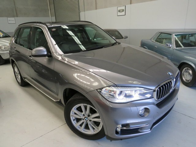 Used BMW X5 F15 xDrive25d Seaford, 2014 BMW X5 F15 xDrive25d Space Grey 8 Speed Automatic Wagon
