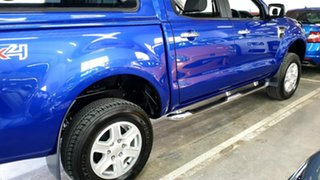 2014 Ford Ranger PX XLT Double Cab Aurora Blue 6 Speed Sports Automatic Utility
