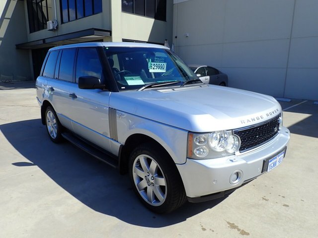 Used Land Rover Range Rover Vogue L322 08MY TDV8 Luxury, 2007 Land Rover Range Rover Vogue L322 08MY TDV8 Luxury Silver Metallic 6 Speed Sports Automatic