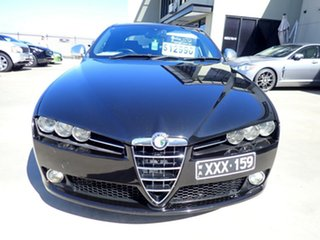 2011 Alfa Romeo 159 MY09 JTD Ti Black Magic 6 Speed Sports Automatic Sedan.