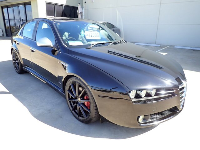 Used Alfa Romeo 159 MY09 JTD Ti, 2011 Alfa Romeo 159 MY09 JTD Ti Black Magic 6 Speed Sports Automatic Sedan