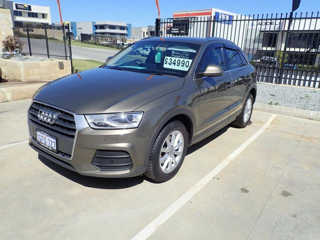 Used Audi Q3 8U MY17 1.4 TFSI (110kW), 2016 Audi Q3 8U MY17 1.4 TFSI (110kW) Bronze Metallic 6 Speed Automatic Wagon