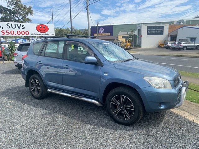 Used Toyota RAV4 ACA33R , 2006 Toyota RAV4 ACA33R Blue 5 Speed Manual Wagon