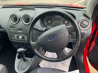 2006 Ford Fiesta WQ LX Red 4 Speed Automatic Hatchback