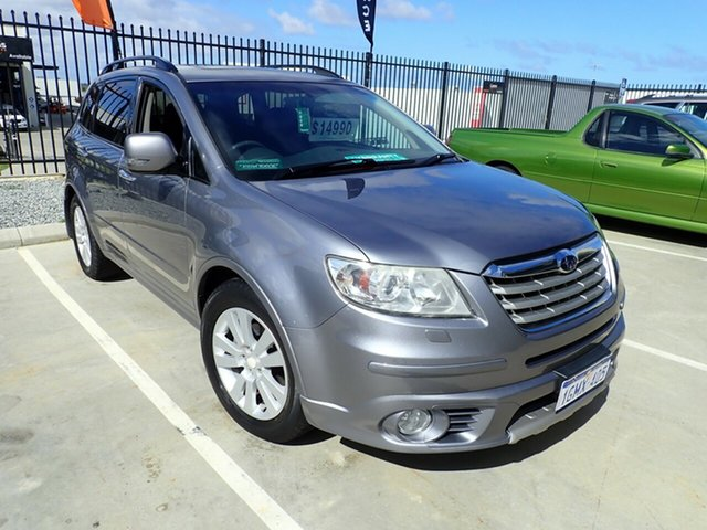 Used Subaru Tribeca B9 MY08 R AWD Premium Pack, 2008 Subaru Tribeca B9 MY08 R AWD Premium Pack Grey Blue 5 Speed Sports Automatic Wagon