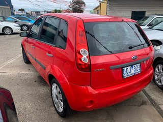 2006 Ford Fiesta WQ LX Red 4 Speed Automatic Hatchback.