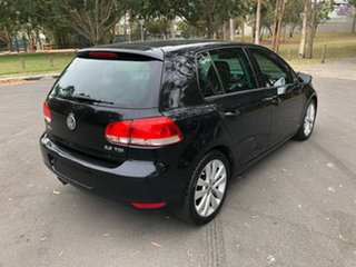 2009 Volkswagen Golf 1K 6th Gen 103 TDI Comfortline Black 6 Speed Direct Shift Hatchback.