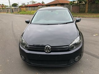 2009 Volkswagen Golf 1K 6th Gen 103 TDI Comfortline Black 6 Speed Direct Shift Hatchback