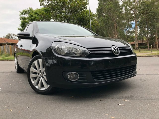 Used Volkswagen Golf 1K 6th Gen 103 TDI Comfortline Underwood, 2009 Volkswagen Golf 1K 6th Gen 103 TDI Comfortline Black 6 Speed Direct Shift Hatchback